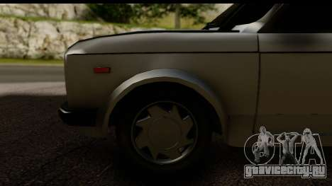 Fiat 128 для GTA San Andreas вид сзади