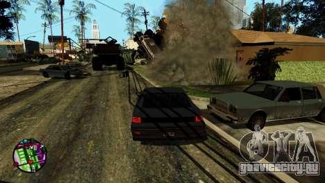 Транспорт вместо пуль V2 для GTA San Andreas шестой скриншот