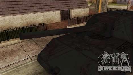 Panzerkampfwagen VIII Maus для GTA San Andreas вид сзади слева