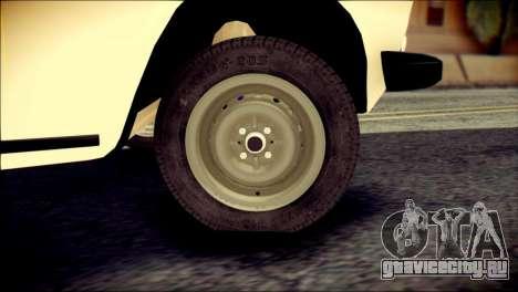 ВАЗ 2106 Сток для GTA San Andreas вид сзади слева