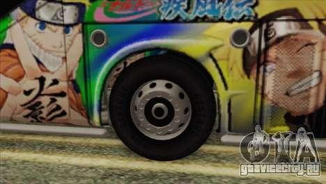 Bus Thailand для GTA San Andreas вид сзади слева