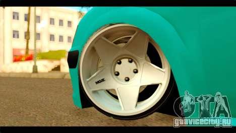 Peugeot 106 для GTA San Andreas вид сзади слева