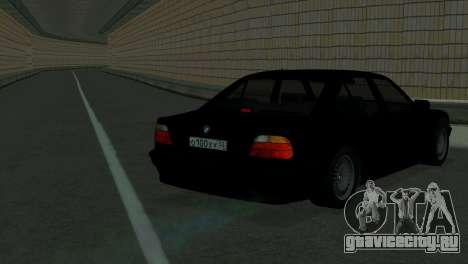 BMW 750i e38 для GTA San Andreas вид сзади слева