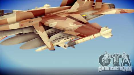 F-22 Raptor Starscream для GTA San Andreas вид справа