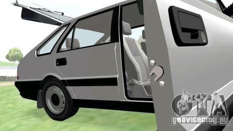Daewoo FSO Polonez Caro Plus ABC 1999 для GTA San Andreas вид сверху