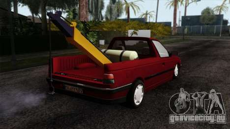 Peugeot 405 Pickup для GTA San Andreas вид слева