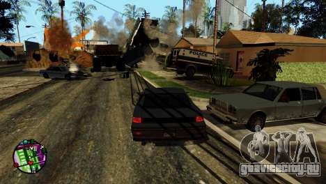 Транспорт вместо пуль V2 для GTA San Andreas одинадцатый скриншот