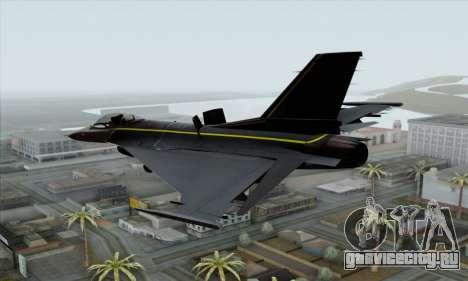 F-16XL для GTA San Andreas вид слева