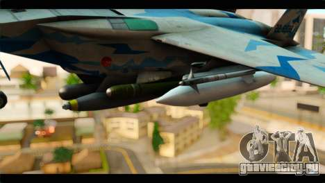 F-15E 303rd TFS Fighting Dragons для GTA San Andreas вид справа