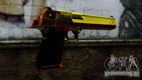 Desert Eagle España для GTA San Andreas второй скриншот
