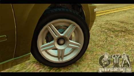 GTA 4 Pinnacle для GTA San Andreas вид сзади слева