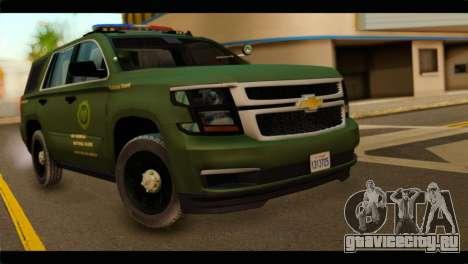 Chevrolet Suburban 2015 SANG для GTA San Andreas