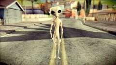 Gray Alien Skin Skin для GTA San Andreas