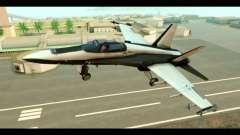 McDonnell Douglas FA-18 HARV v2 для GTA San Andreas