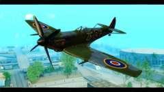 Supermarine Spitfire F MK XVI 318 SQ для GTA San Andreas