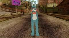 Toy Bonnie from Five Nights at Freddy 2