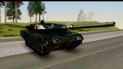 Leopard 2A6 Woodland для GTA San Andreas