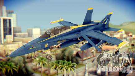 FA-18D Hornet NASA для GTA San Andreas