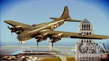 B-17G Flying Fortress для GTA San Andreas