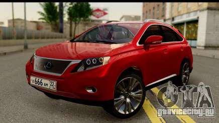 Lexus RX450h для GTA San Andreas