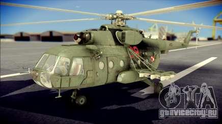 Mil Mi-8 Polish Air Force Afganistan для GTA San Andreas