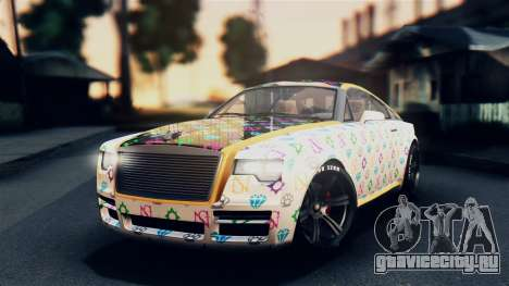 GTA 5 Enus Windsor для GTA San Andreas вид сбоку