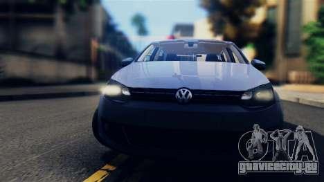 Volkswagen Polo для GTA San Andreas вид сзади слева