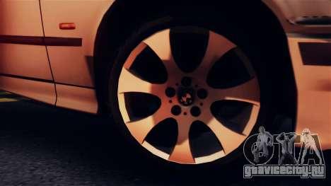 BMW 316i Touring для GTA San Andreas вид сзади