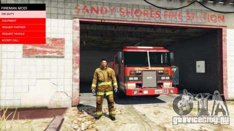 Миссии пожарного v2.0 для GTA 5