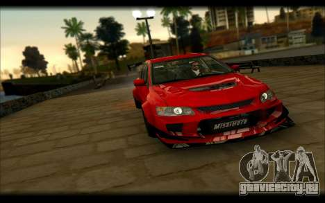 Mitsubishi Lancer Evolution IX Street Edition для GTA San Andreas