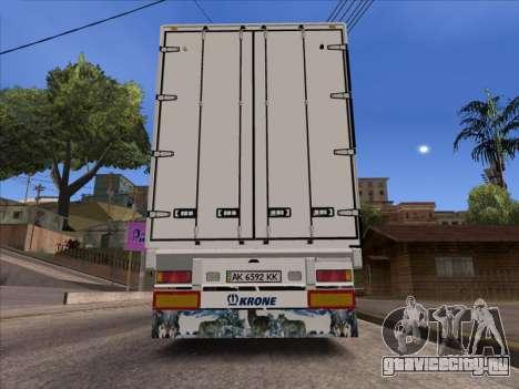 Krone Таврия для GTA San Andreas вид сзади слева