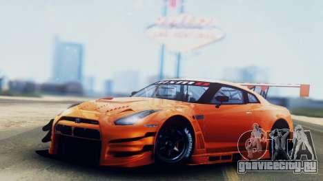 Nissan GT-R (R35) GT3 2012 PJ5 для GTA San Andreas