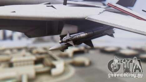 Grumman F-14A Tomcat для GTA San Andreas вид справа