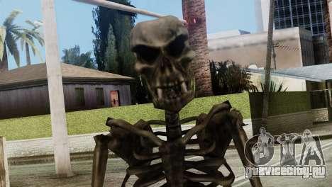 Skeleton Skin v2 для GTA San Andreas