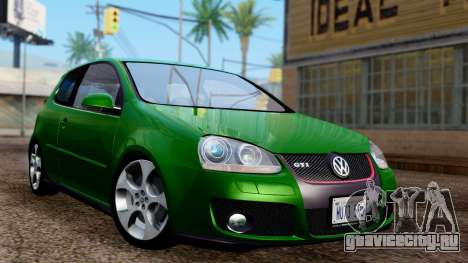 Volkswagen Golf Mk5 GTi Tunable PJ для GTA San Andreas