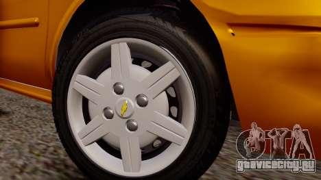 Chevrolet Corsa Classic 2009 v2 для GTA San Andreas вид справа