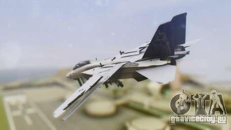 Grumman F-14A Tomcat для GTA San Andreas вид слева