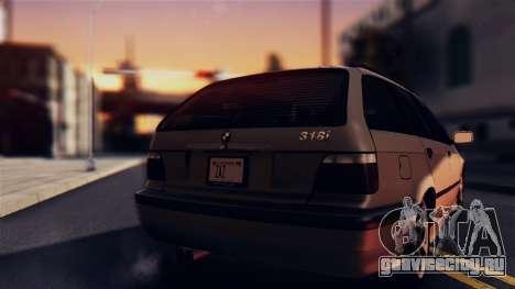 BMW 316i Touring для GTA San Andreas вид справа