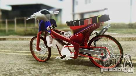 Dream 110 cc of Thailand для GTA San Andreas вид слева