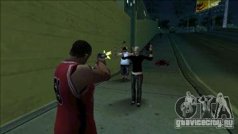 GTA 5 Kill Flash Effect для GTA San Andreas второй скриншот