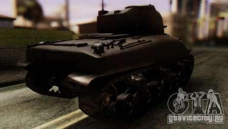 M4 Sherman v1.1 для GTA San Andreas вид слева