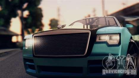 GTA 5 Enus Windsor для GTA San Andreas вид сзади слева