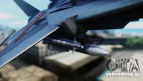 F-14J Super Tomcat JASDF для GTA San Andreas вид справа