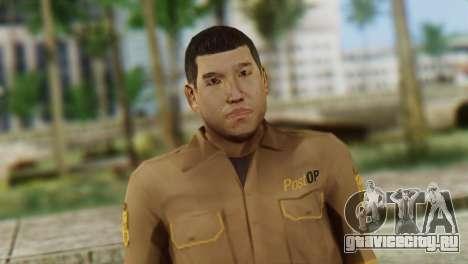 Post OP Skin from GTA 5 для GTA San Andreas третий скриншот
