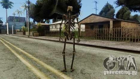 Skeleton Skin v2 для GTA San Andreas третий скриншот