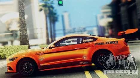 Ford Mustang GT 2015 Stock Tunable v1.0 для GTA San Andreas