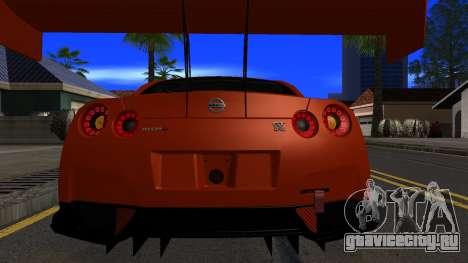 Nissan GT-R (R35) GT3 2012 PJ5 для GTA San Andreas вид сбоку