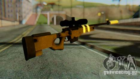 L96 Bandage Silencer для GTA San Andreas второй скриншот