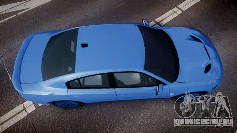 Dodge Charger SRT 2015 Hellcat для GTA 4 вид справа