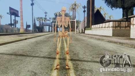 Skeleton Skin v1 для GTA San Andreas третий скриншот